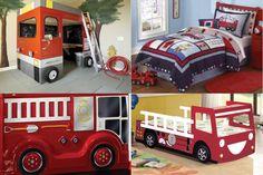 Habitaciones temáticas: pequeños bomberos