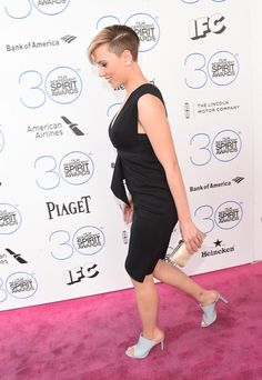 More Pics of Scarlett Johansson Boy Cut (14 of 30) - Short Hairstyles Lookbook - StyleBistro