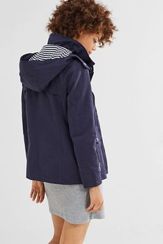 Esprit / Lightweight outdoor jacket, blended cotton