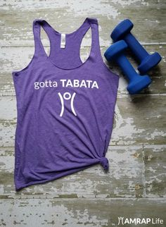 Look cute while crushing your next TABATA workout. Push, rest, repeat - live AMRAP!