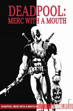 Deadpool Merc with a Mouth
