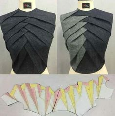 Sewing Techniques Advanced Técnica origami Glorious Sewing Basic Tips Ideas. All Time Best Sewing Basic Tips Ideas. Fashion Sewing, Diy Fashion, Ideias Fashion, Fashion Ideas, Dress Sewing Patterns, Clothing Patterns, Pattern Sewing, Sewing Ideas, Japanese Sewing Patterns