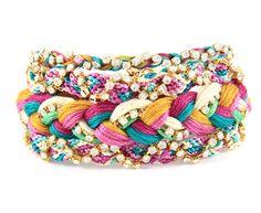 Neon Bracelets - in love with the website, so many pretty pretty bracelets :)