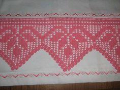 Crochet Stitches Patterns, Baby Knitting Patterns, Stitch Patterns, Filet Crochet, Crochet Motif, Knit Crochet, Russian Crochet, Crochet Table Runner, Crochet Bedspread