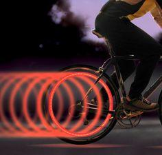 Spoke Lit Bicycle Light