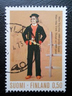 Stamps, covers and postcards of traditional/folk costumes: Stamps / Costumes - Finland / Suomija Folk Costume, Costumes, Pen Pals, Stamp Collecting, Helsinki, Folklore, Traditional Outfits, Postage Stamps, Postcards