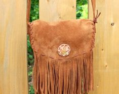 Quality leather accessories for all ages. by GypsyPlaid on Etsy Leather Crossbody Bag, Leather Handbags, Leather Bag, Brown Leather, Handmade Shop, Handmade Bags, Western Purses, Fringe Bags, Brown Purses