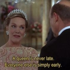 Queen Clarisse (Julie Andrews) in The Princess Diaries 2 Movies Quotes, Film Quotes, Funny Quotes, Humor Quotes, Best Movie Quotes, Funny Memes, The Princess Diaries, Film Romance, Late For School