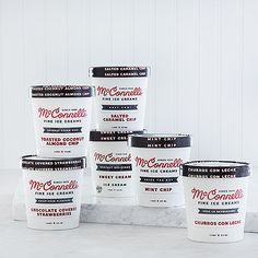 McConnell's Ice Cream Spring Collection- the coconut toasted almond chip is off the hook!