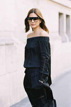 3 Ways To Wear An Off-The-Shoulder Top