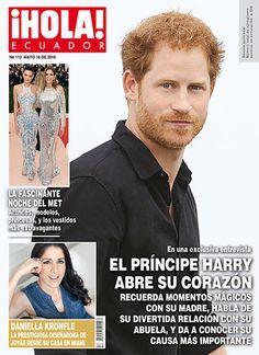 ¡Hola! Ecuador, No. 113, May 2016 #PrinceHarry #BritishRoyals https://twitter.com/HOLAec