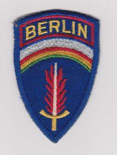 Vintage Army Patch Berlin Brigade U.S. Army