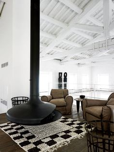 Paola Navone's Industrial Style Renovation in Italy - Interior Design Inspirations