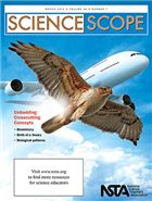 "The March issue of Science Scope is now online! This month, read all about embedding the crosscutting concepts of the Next Generation Science Standards in your lessons. Be sure to check out this month's free article, ""Biomimicry: The 'Natural' Intersection of Biology and Engineering."""