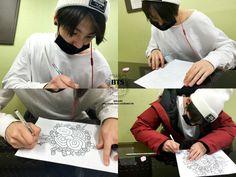 Jungkook is so good at drawing!