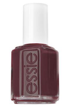 Essie Polish in Berry Hard.