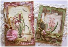 Garden Journal Cards {Bo Bunny & Tresors de Luxe}