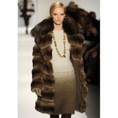 2014 runway women's fashion pinterest for plus size | Fur Coats Long gone are the days of fur shame. Expect to see lots ...