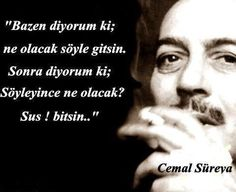 Cemal Süreyya .. Quotes To Live By, Love Quotes, Short Poems, Love Actually, Strong Love, Words Worth, Meaning Of Life, Poetry Books, Favorite Words