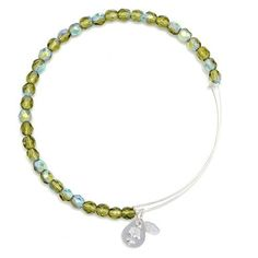 Alex and Ani Moss Rock Candy Beaded Bangle Shiny Silver, BBEB172S Alex and Ani http://www.amazon.com/dp/B00IOXV5ZE/ref=cm_sw_r_pi_dp_zCDNvb1WPT9MB