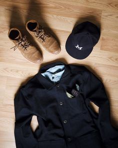 """Mi piace"": 1,764, commenti: 28 - Whaley (@whaleysworld) su Instagram: ""@wilsonandwillys indigo canvas chore coat & indigo Miller's cap. These guys continue to kill it."""
