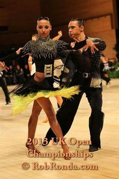 Aleksandr Altukhov & Natalia Barantseva - UK Open 2013 - 6th place Professional Rising Star. More photos: http://dancesportinfo.net/Couple/Aleksandr_Altukhov_and_Natalia_Barantseva_199029/Photos.aspx
