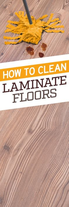When cleaning laminate floors, it's important to use a cleaner that won't damage or warp the laminate. Simple Green All-Purpose Cleaner is great for cleaning up spills and scuff marks, and tackling dirty floors. Plus, it's non-toxic and biodegradable, Safe Cleaning Products, Household Cleaning Tips, Cleaning Checklist, Household Cleaners, Cleaning Recipes, House Cleaning Tips, Green Cleaning, Cleaning Solutions, Spring Cleaning