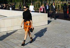 Street Style: Paris Fashion Week Spring 2015, Part 2 - Vogue