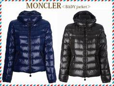2014 新作★セレブ愛用!☆MONCLER☆BADY☆ダウンジャケット 2色 BUYMAの定番人気モデルにもラインナップされている、2013-2014秋冬の注目アイテムになります。  定番でシンプルなデザインですが、女性の体にフィットするラインや 光沢のある生地に上品さもあり、カジュアルにまとまりすぎないのが魅力です。