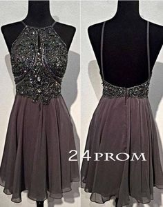 A wide selection of long homecoming dress,one shoulder homecoming dress and petite homecoming dresses are at a discount and weddingdressesonline recommends backless knee length homecoming dresses chiffon beaded halter neckline sleeveless knee length a-line formal cocktail dress gowns 2016 greatly.