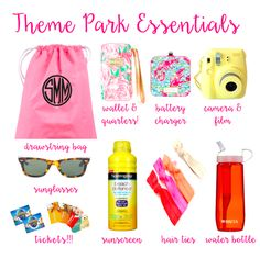 Theme Park Essentials for Disney, Universal, and Islands of Adventure! What to Pack for Theme Parks #Disney #Universal #ThemePark