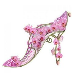 Flower shoe {artistic, not real shoe}
