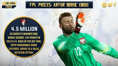 With AVL, LEI, SUN, WAT, and TOT at home first, Polish international Boruc (4.5m) has high #FPL rotation potential.