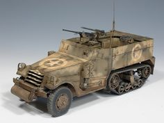 M2, 1st Armored Division, Italy 1944 | Peter C. Yoon