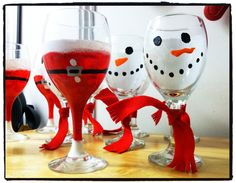 Cute wine glasses!