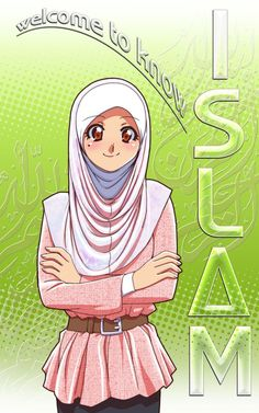 Hijab DrawingWelcome to know Islam by Nayzak on deviantART Hijab Drawing Source : Welcome to know Islam by Nayzak on deviantART by calinedeer Cartoon Girl Images, Cartoon Pics, Girl Cartoon, Cartoon Drawings, Muslim Pictures, Islamic Pictures, Black Lagoon Anime, Hijab Drawing, Islamic Cartoon