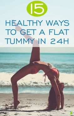 Want a sleek, sexy toned tummy? Too busy to hit the gym? Check out these 15 secret tricks you can do each day and flatten your stomach in under 24 hours!