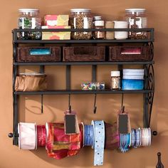 I pinned this Lynbar Wall Craft Rack from the Home for the Holidays event at Joss and Main!