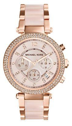 Michael Kors Watches Parker Women s Watch (Rose Gold)  best rose gold watches  Watches 71a803414a