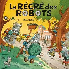 Dans le cadre d'un projet sur l'environnement, toute la classe d'Ernest rivalise d'ingéniosité pour créer des robots à partir d'objets recyclés. Les robots sont magnifiques! Mais dans la nuit qui précède l'exposition, un orage électrique éclate et les oeuvres prennent vie. Voilà qu'au matin, toute l'école est sans dessus dessous! En effet, certains robots sont rigolos, mais d'autres ont des instincts destructeurs. Les élèves n'avaient pas prévu que certains éléments, comme des batteries ou…