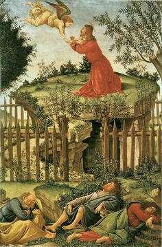 Sandro Botticelli Most Famous Paintings | SANDRO BOTTICELLI ( 1445 - 1510) - The Agony in the Garden. http://www ...