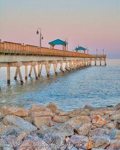 Buckroe Beach Fishing Pier  Hampton VA by BPaydenPhotography, $28.00