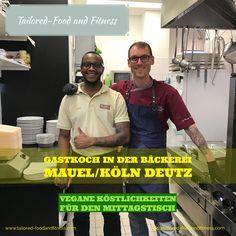 Zur Zeit als Gastkoch in der Bäckerei Mauel 1883 / Köln Deutz. Siegburger Strasse 229. Es gibt vegane Köstlichkeiten für den Mittagstisch. www.tailored-foodandfitness.com
