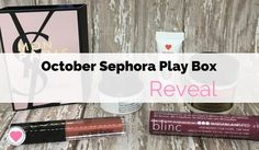Sephora Play Box Reveal via @stacieannh