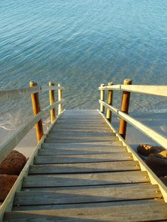 stairway to the sea...