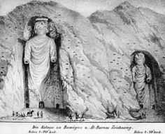 Buddhas of Bamiyan.   Makes me sad ...