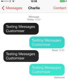 Messages Customizer è un nuovo tweak che permette di personalizzare i colori dei messaggi su iOS
