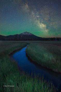 Starry Starry Night | Three Sisters Wilderness, Oregon | by Perri Schelat