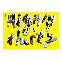 AIGA/NY 30TH ANNIVERSARY POSTER - JAMES VICTORE|UncommonGoods