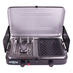 Stansport Propane Stove and Grill Combo - 206-100